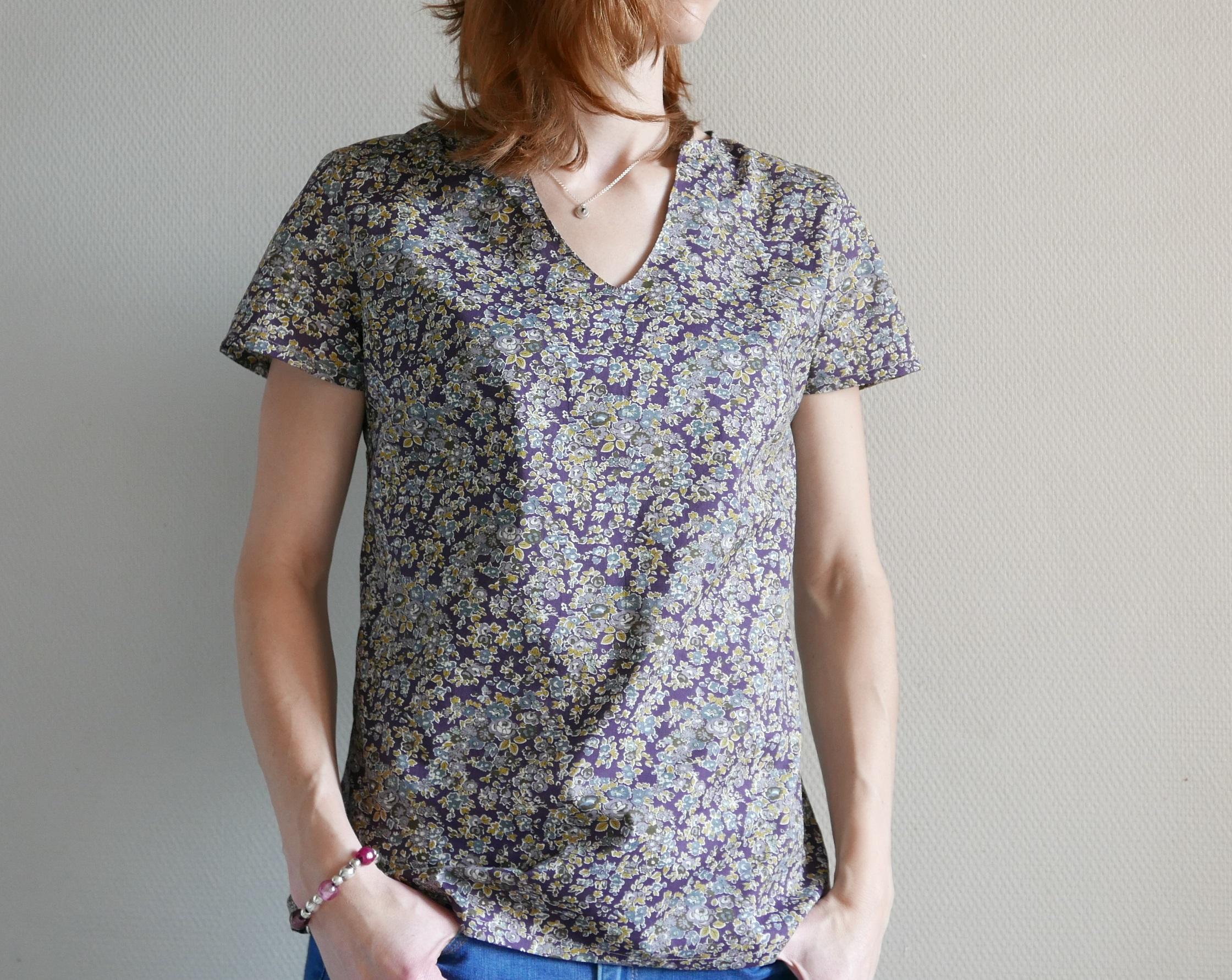 Le Féminin version blouse : pas à pas