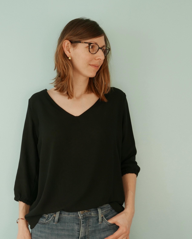 Nouveau patron : la blouse Aérienne